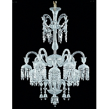 Baccarat lighting chandeliers waterford waterford crystal baccarat lighting chandeliers baccarat solstice chandelier 12 lights aloadofball Images