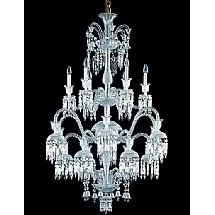 Baccarat lighting chandeliers waterford waterford crystal baccarat lighting chandeliers baccarat solstice chandelier 18 lights aloadofball Gallery