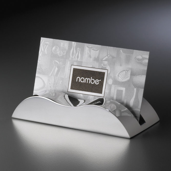 Nambe wave business waterford waterford crystal swarovski nambe wave business card holder colourmoves