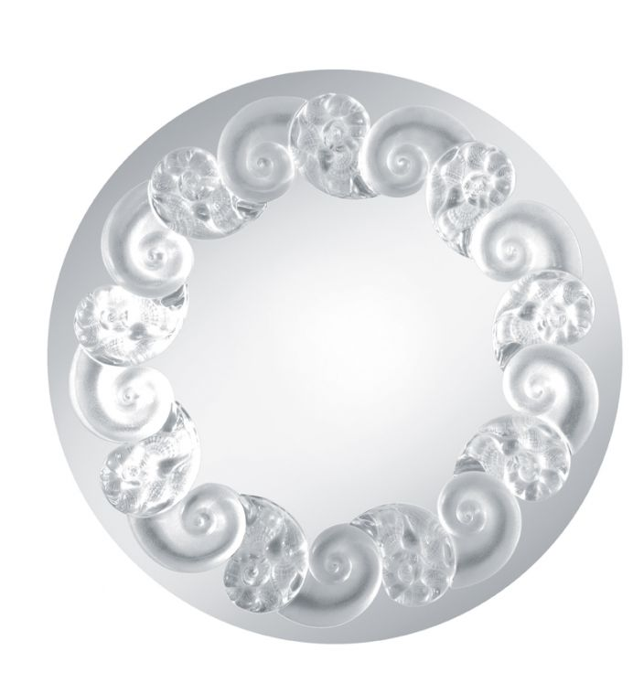Lalique Oceania Mirror