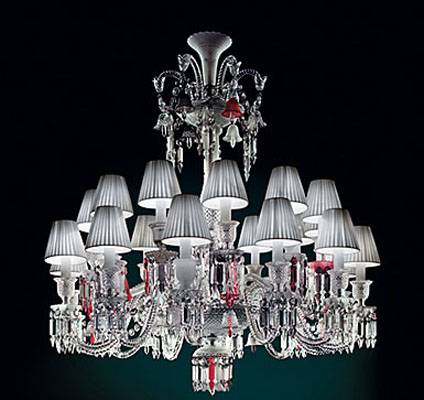 Baccarat Zenith Unfocused Chandelier 24 Light Short & Baccarat Zenith Unfocused Waterford Waterford Crystal Swarovski ...