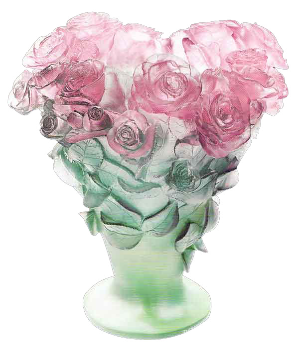 Daum Roses Vase Waterford Waterford Crystal Swarovski Swarovski