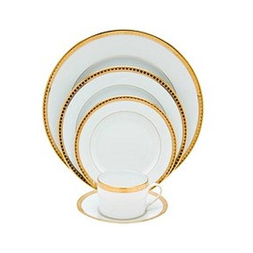 Bernardaud athena gold waterford waterford crystal for Reed barton athena jewelry box