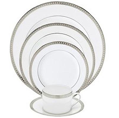 Bernardaud athena platinum waterford waterford crystal for Reed barton athena jewelry box