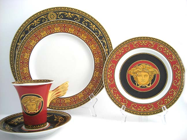 Versace Medusa Red  sc 1 st  Fine Brand Sales & Versace Medusa Red Waterford Waterford Crystal Swarovski ...