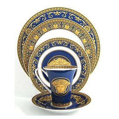 Versace Medusa Blue  sc 1 st  Fine Brand Sales & Versace Medusa Blue Waterford Waterford Crystal Swarovski ...