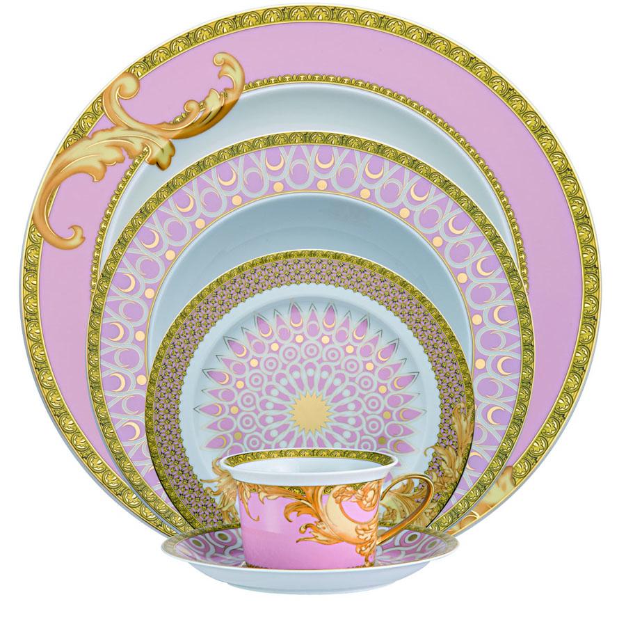Versace Byzantine Dreams 5 Pc. Place Setting  sc 1 st  Fine Brand Sales & Versace Byzantine Dreams Waterford Waterford Crystal Swarovski ...
